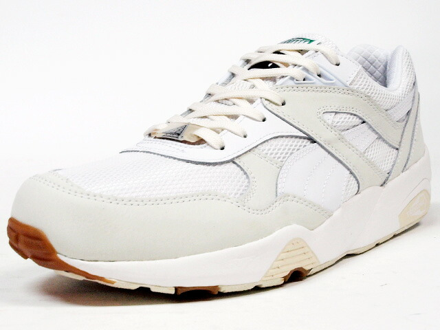 "Puma  R698 WHITE ON WHITE ""LIMITED EDITION"" WHT/WHT (358142-01)"