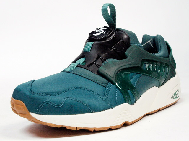 "Puma  DISC BLAZE BASIC SPORT ""LIMITED EDITION"" GRN/WHT (357677-04)"