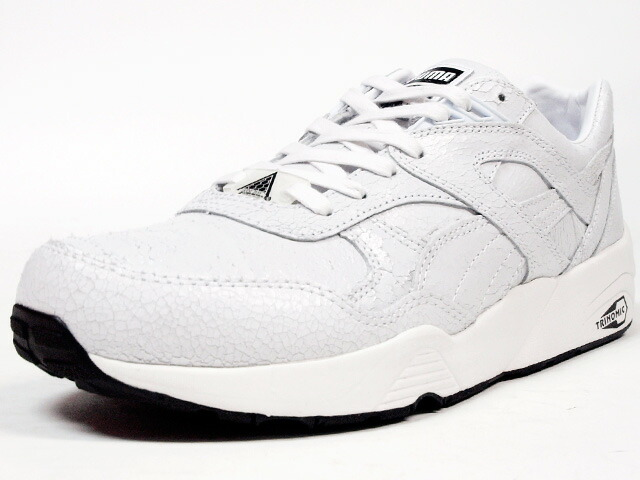 "Puma  R698 TRINOMIC CRKL ""LIMITED EDITION"" WHT/WHT (357740-03)"