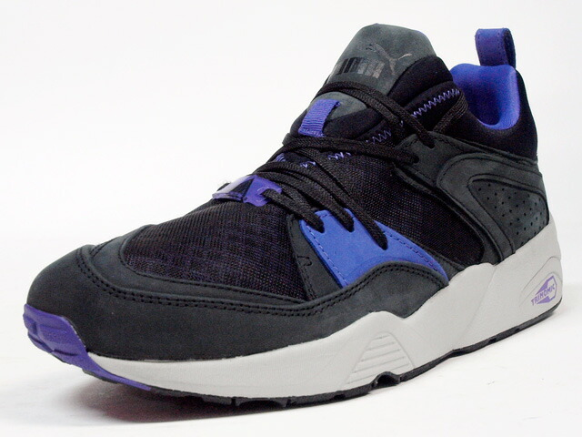 "Puma  BLAZE OF GLORY TRINOMIC CRKL ""LIMITED EDITION"" C.GRY/BLK/PPL (357772-01)"