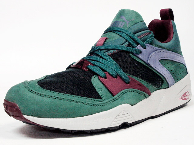 "Puma  BLAZE OF GLORY TRINOMIC CRKL ""LIMITED EDITION"" GRN/BGD/PPL (357772-02)"