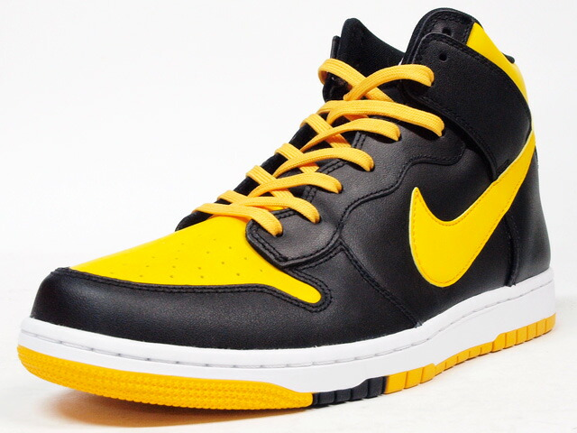"""NIKE  DUNK CMFT PREMIUM """"LIMITED EDITION for ICONS"""" BLK/YEL (705434-700)"""