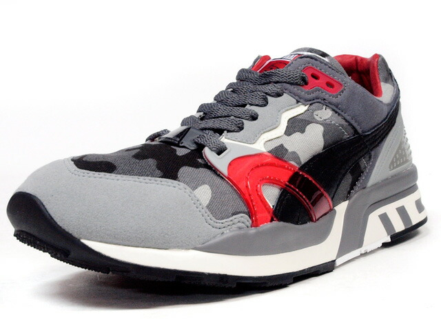 "Puma  TRINOMIC XT2+ ""HOMEGROWN"" ""LIMITED EDITION for CREAM"" CAMO/GRY/BLK/RED (358405-01)"