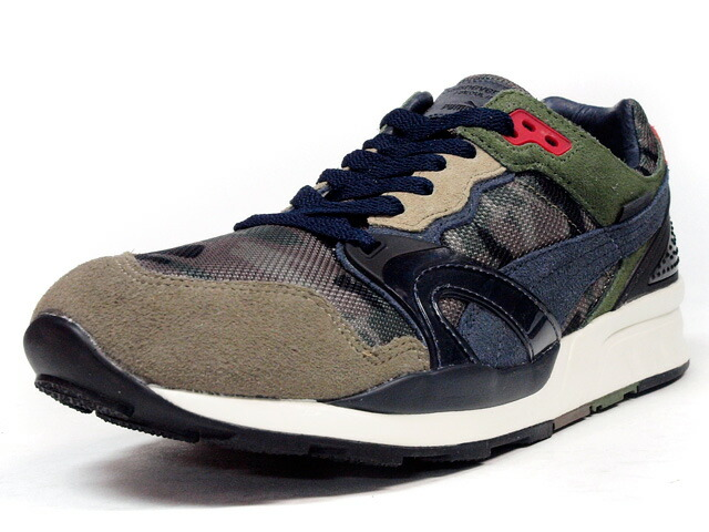 "Puma  TRINOMIC XT2+ SEOUL WOODS ""THISISNEVERTHAT"" ""LIMITED EDITION for CREAM"" CAMO/KKI/RED (359150-01)"