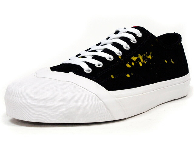 "LOSERS  SCHOOLER CLASSIC LO ""DRIPS"" ""CUSTOM MADE"" BLK/WHT/YEL/RED (SCL03)"