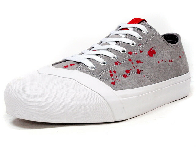 "LOSERS  SCHOOLER CLASSIC LO ""DRIPS"" ""CUSTOM MADE"" GRY/WHT/RED (SCL04)"
