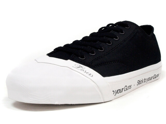"""LOSERS  SCHOOLER CLASSIC LO """"STYG"""" """"CUSTOM MADE"""" BLK/WHT/RED (SCL06)"""