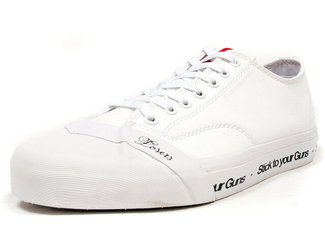 """LOSERS  SCHOOLER CLASSIC LO """"STYG"""" """"CUSTOM MADE"""" WHT/RED (SCL07)"""