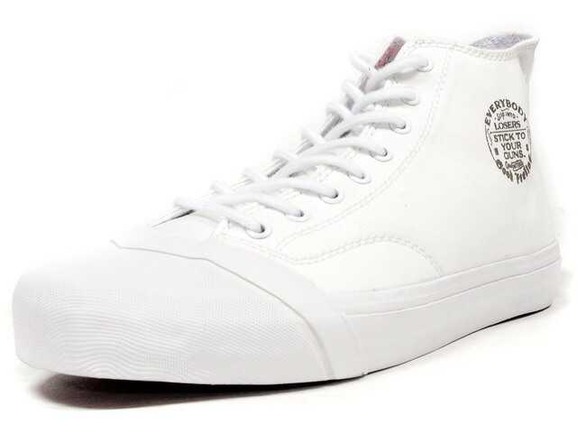 "LOSERS  SCHOOLER CLASSIC HI ""READY MADE"" WHT/RED (SSCH01)"