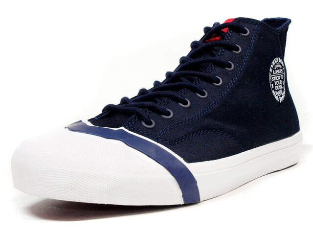 """LOSERS  SCHOOLER CLASSIC HI """"READY MADE"""" NVY/WHT/RED (SSCH02)"""