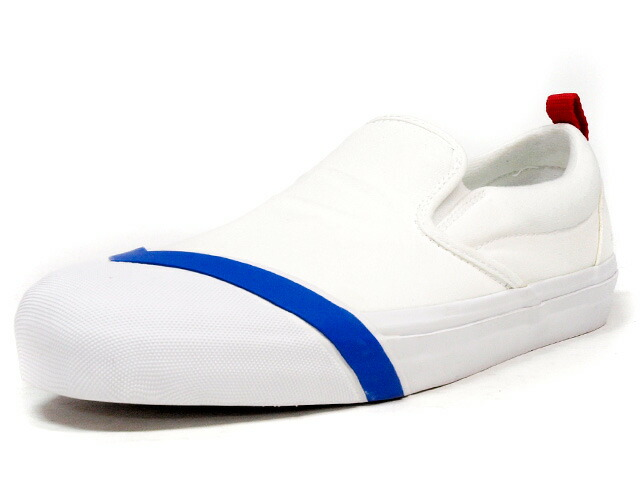 "LOSERS  SCHOOLER SLIPON ""READY MADE"" WHT/BLU/RED (SP01)"