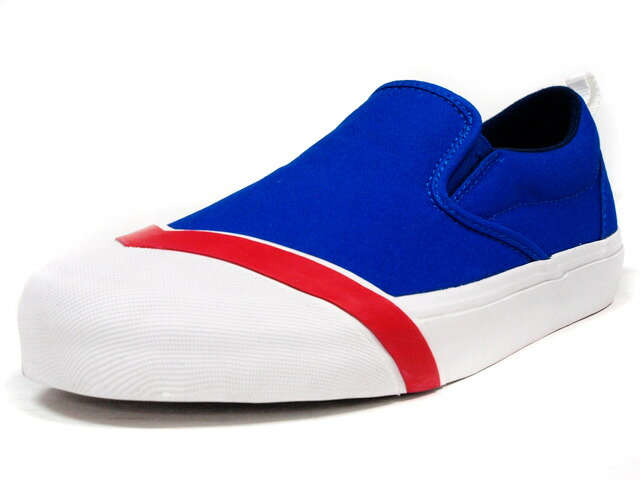 "LOSERS  SCHOOLER SLIPON ""READY MADE"" BLU/RED/WHT (SP02)"