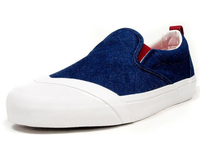 "LOSERS  SCHOOLER SLIPON ""OKAYAMA DENIM"" ""CUSTOM MADE"" BLU/WHT/RED (SP04)"