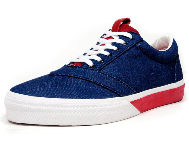 "LOSERS  UNEAKER ""OKAYAMA DENIM"" ""CUSTOM MADE"" BLU/WHT/RED (UN09)"