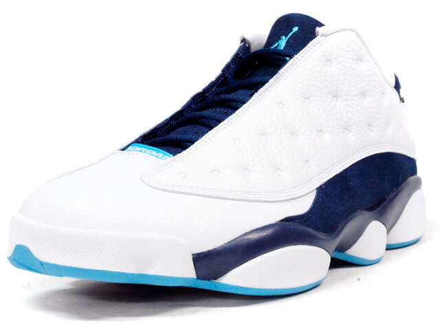 "NIKE  AIR JORDAN XIII RETRO LOW ""CHARLOTTE HORNETS"" ""MICHAEL JORDAN"" ""LIMITED EDITION for NONFUTURE"" WHT/NVY/SAX (310810-107)"