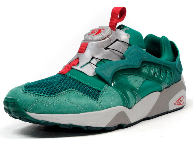 "Puma  DISC TRINOMIC ""ALIFE"" ""LIMITED EDITION"" GRN/GRY/RED (357737-01)"