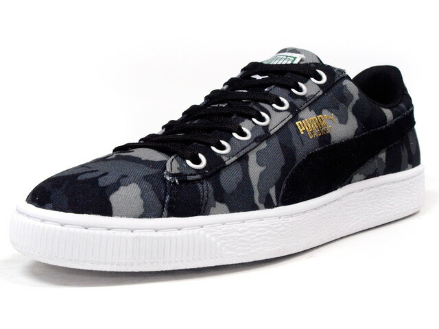 "Puma  BASKET CANVAS CAMO ""LIMITED EDITION"" BLK/CAMO (358630-02)"