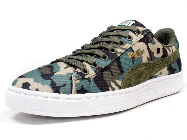 "Puma  BASKET CANVAS CAMO ""LIMITED EDITION"" KKI/CAMO (358630-03)"