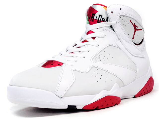 "NIKE  AIR JORDAN VII RETRO ""HARE"" ""MICHAEL JORDAN"" ""LIMITED EDITION for NONFUTURE"" WHT/GRY/RED (304775-125)"