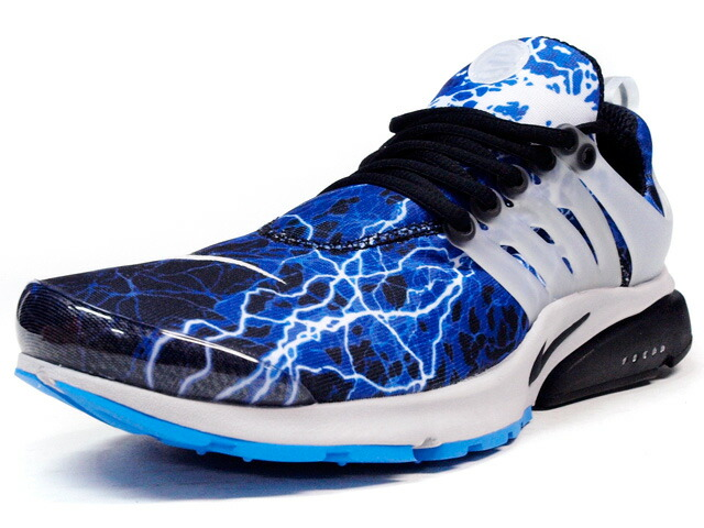 "NIKE  AIR PRESTO QS ""LIGHTNING"" ""LIMITED EDITION for NONFUTURE"" BLU/BLK/CLEAR (789870-004)"