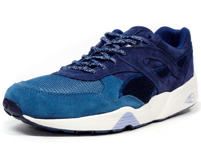 "Puma  R698 OG ""Bluefield"" ""BWGH"" ""LIMITED EDITION for CREAM"" BLU/NVY/WHT (357174-01)"