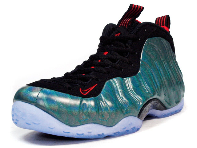 "NIKE  AIR FOAMPOSITE ONE PREMIUM ""GONE FISHING"" ""LIMITED EDITION for NONFUTURE"" E.GRN/BLK/RED (575420-300)"