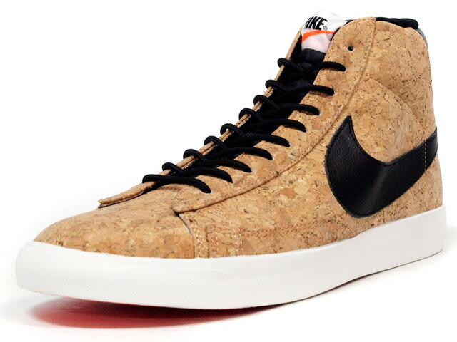 """NIKE  BLAZER MID CORK """"LIMITED EDITION for ICON"""" CORK/BLK/ORG (749636-100)"""