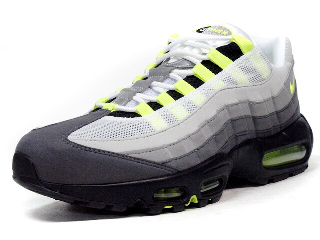 """NIKE  AIR MAX 95 OG """"AIR MAX 95 20th ANNIVERSARY"""" """"LIMITED EDITION for ICONS"""" GRY/BLK/N.YEL (554970-071)"""