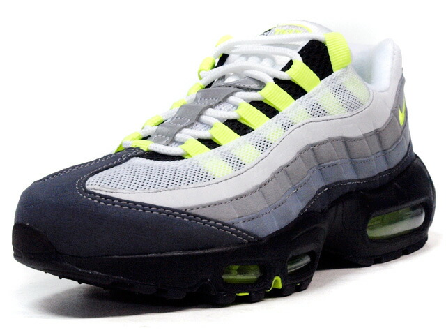 """NIKE  (WMNS) AIR MAX 95 OG """"AIR MAX 95 20th ANNIVERSARY"""" """"LIMITED EDITION for ICONS"""" GRY/BLK/N.YEL (307960-002)"""