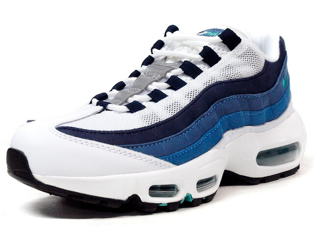 """NIKE  (WMNS)AIR MAX 95 OG """"AIR MAX 95 20th ANNIVERSARY"""" """"LIMITED EDITION for ICONS"""" WHT/BLU/NVY (307960-100)"""