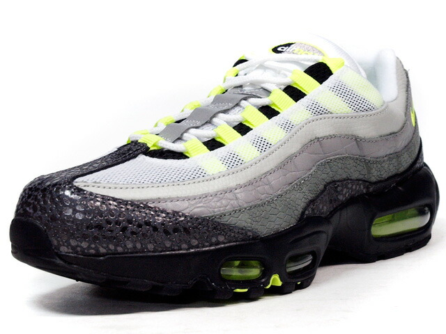 """NIKE  AIR MAX 95 OG PREMIUM """"AIR MAX 95 20th ANNIVERSARY"""" """"LIMITED EDITION for NONFUTURE"""" GRY/BLK/N.YEL (759986-070)"""