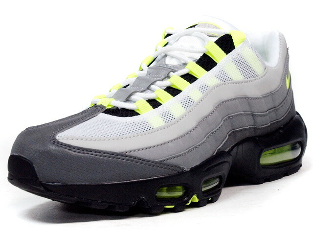 """NIKE  AIR MAX 95 OG PREMIUM """"AIR MAX 95 20th ANNIVERSARY"""" """"LIMITED EDITION for NONFUTURE"""" GRY/BLK/N.YEL (759986-071)"""