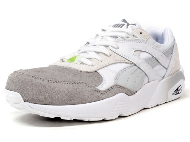 "Puma  R698 BLOCKED ""LIMITED EDITION"" WHT/GRY (359288-02)"