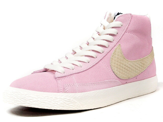 """NIKE  BLAZER MID PREMIUM VINTAGE """"LIMITED EDITION for NONFUTURE"""" PINK/BGE/WHT (638322-601)"""