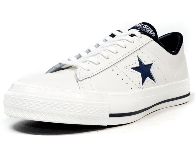 """CONVERSE  ONE STAR J """"made in JAPAN"""" """"LIMITED EDITION for STAR SHOP"""" WHT/NVY (32346825)"""