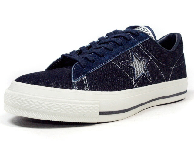 """CONVERSE  ONE STAR J DENIM """"made in JAPAN"""" """"LIMITED EDITION for STAR SHOP"""" NVY (32366785)"""