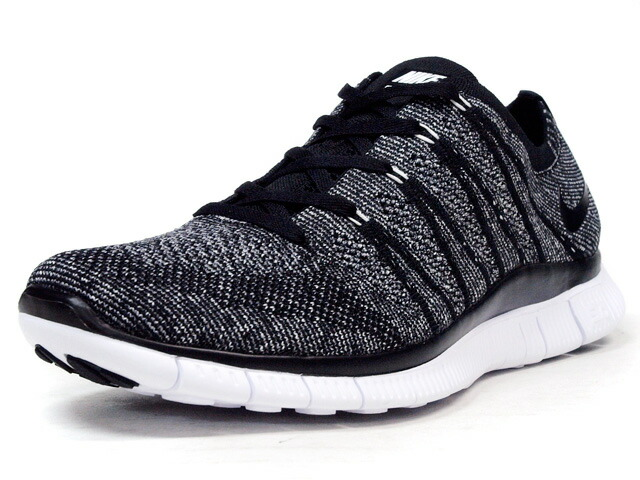 "NIKE  FREE FLYKNIT NSW ""LIMITED EDITION for RUNNING FLYKNIT"" BLK/GRY/WHT (599459-010)"