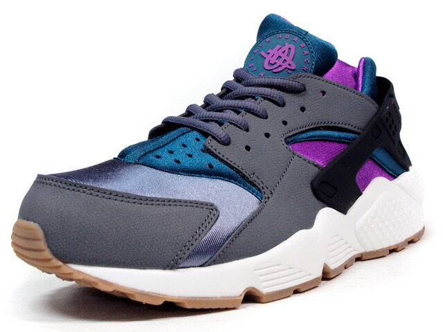 "NIKE  (WMNS) AIR HUARACHE RUN ""LIMITED EDITION for ICON"" GRY/BLK/PPL/NAT/GUM (634835-016)"