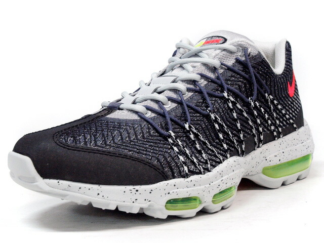 "NIKE  AIR MAX 95 ULTRA JCRD ""AIR MAX 95 20th ANNIVERSARY"" ""LIMITED EDITION for ICONS"" GRY/L.GRY/ORG/YEL (749771-006)"
