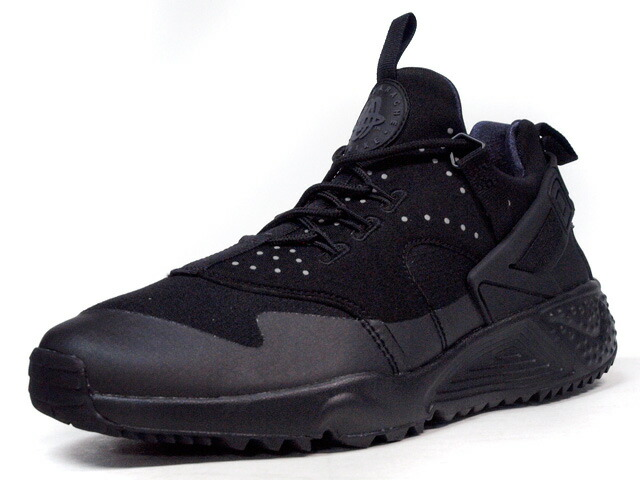 """NIKE  AIR HUARACHE UTILITY """"LIMITED EDITION for NSW"""" BLK/BLK (806807-002)"""