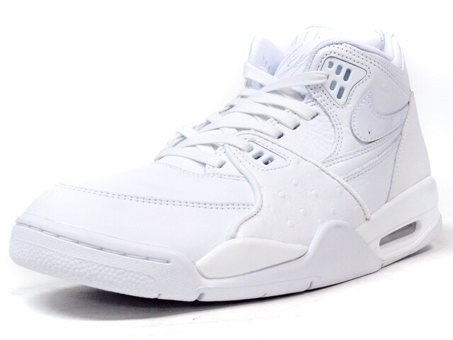 "NIKE  AIR FLIGHT 89 LE QS ""LIMITED EDITION for NONFUTURE"" WHT/WHT/BLK (804605-100)"