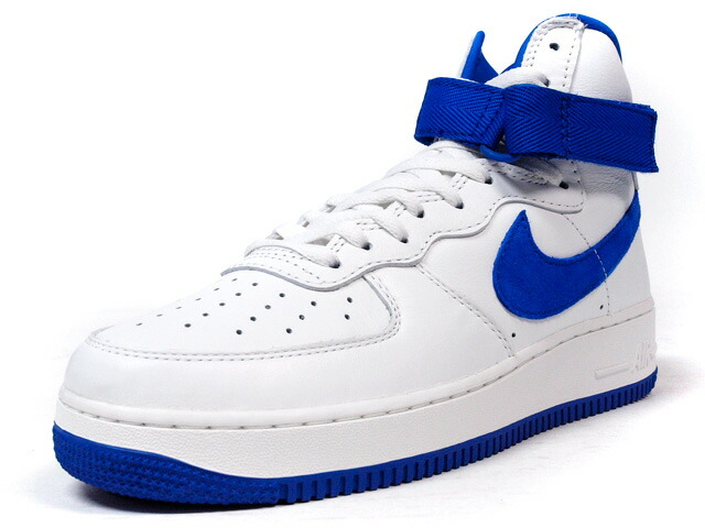 "NIKE  AIR FORCE I HIGH RETRO QS ""LIMITED EDITION for NONFUTURE"" WHT/BLU (743546-103)"