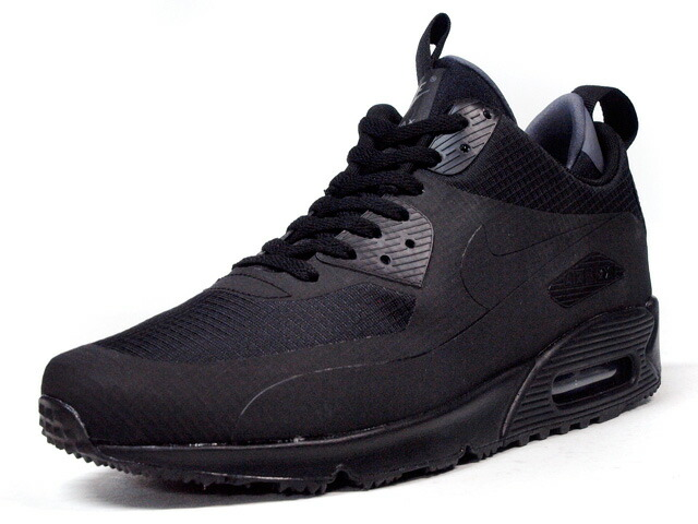 "NIKE  AIR MAX 90 MID WNTR ""LIMITED EDITION for ICONS"" BLK/BLK (806808-002)"