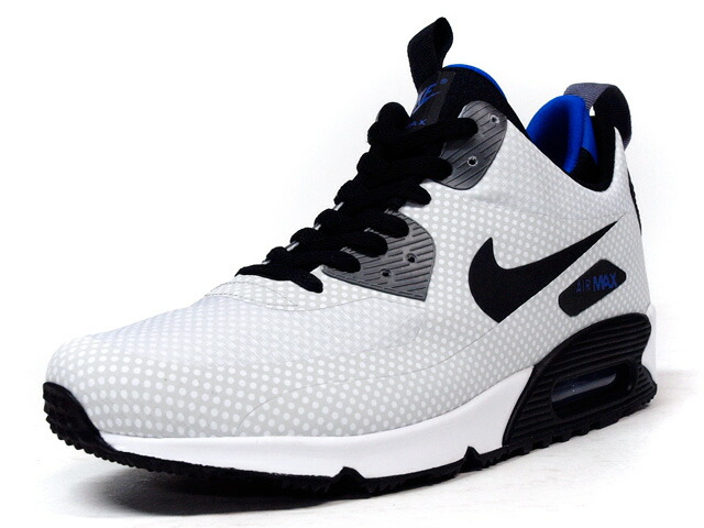 "NIKE  AIR MAX 90 MID WNTR ""LIMITED EDITION for ICONS"" WHT/BLK/BLU (806850-001)"