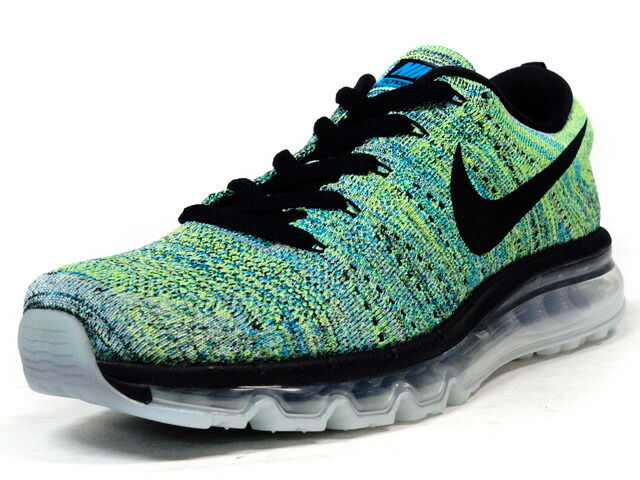 "NIKE  FLYKNIT MAX ""LIMITED EDITION for RUNNING FLYKNIT"" GRN/BLU/BLK/CLEAR (620469-009)"
