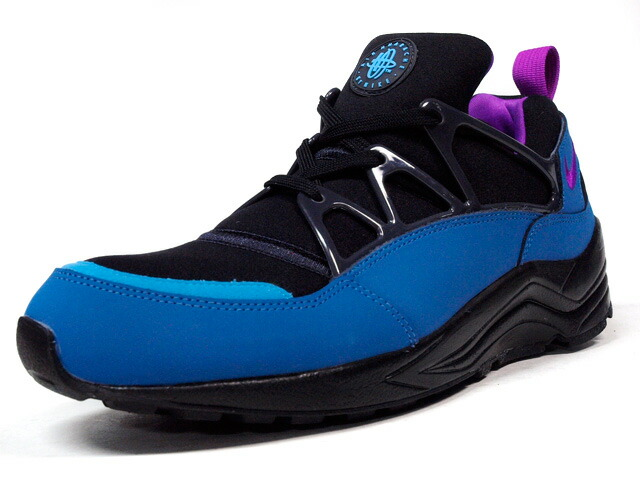 "NIKE  AIR HUARACHE LIGHT FB ""LIMITED EDITION for NSW BEST"" BLK/E.GRN/PPL (725156-003)"