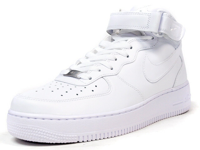 "NIKE AIR FORCE I MID 07  ""LIMITED EDITION for ICON"" WHT/WHT (315123-111)"