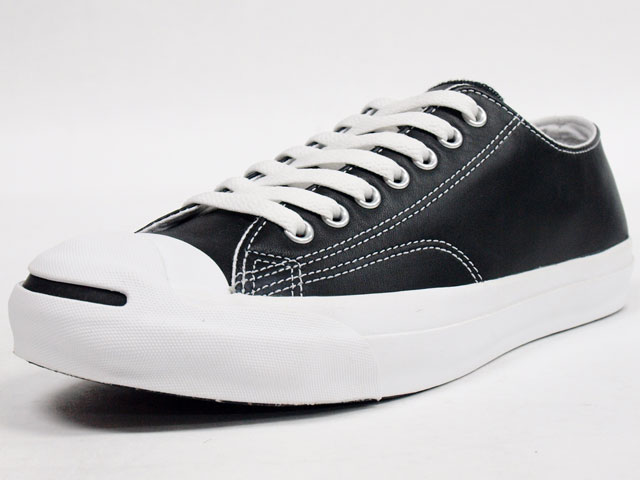 CONVERSE  LEATHER JACK PURCELL BLK (32241231)