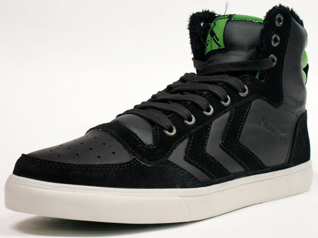 Hummel  WINTER STADIL HIGH BLK/LIME (HM63150-2643)