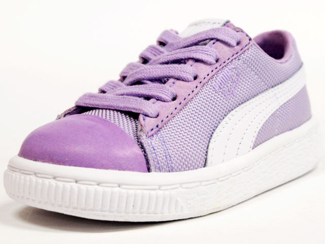 """Puma  CLYDE x UNDEFEATED BALLISTIC CB KIDS """"UNDEFEATED別注"""" """"LIMITED EDITION for GLOBAL KEY ACCOUNT"""" PPL/WHT (353946-01)"""